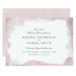 Debonair Blush Pink Rehearsal Dinner Card