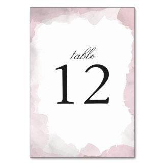 Debonair Blush Pink Wedding Card