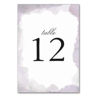 Debonair Lavender Wedding Card