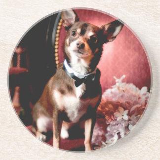 Debonaire Dog Beverage Coaster