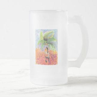 Debora Frosted Glass Beer Mug