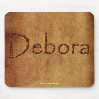 DEBORA Name-Branded Personalised Gift Mousepad