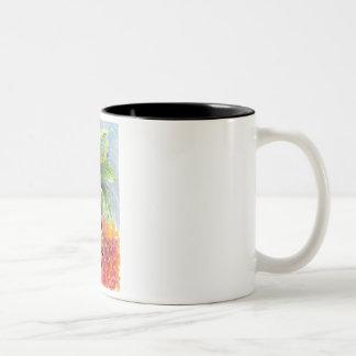 Debora Two-Tone Coffee Mug