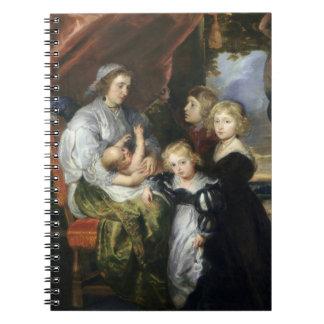 Deborah Kip and Her Children Notebook
