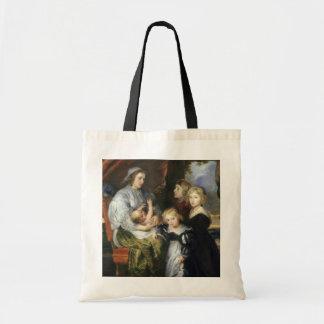 Deborah Kip and Her Children Tote Bag