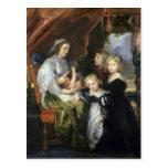 Deborah Kip y sus niños Tarjeta Postal