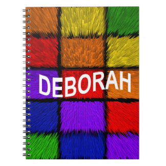 DEBORAH NOTEBOOK
