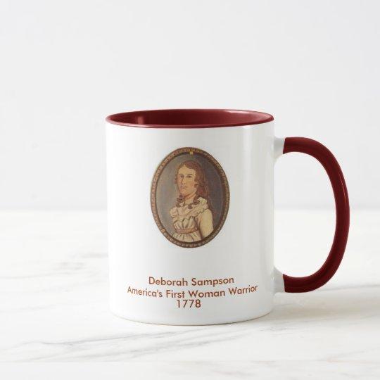 Deborah Sampson America's First Woman Warrier Mug