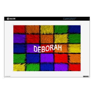 DEBORAH SKIN FOR LAPTOP