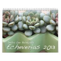 Debra Lee Baldwin's Echeverias 2013 Calendar