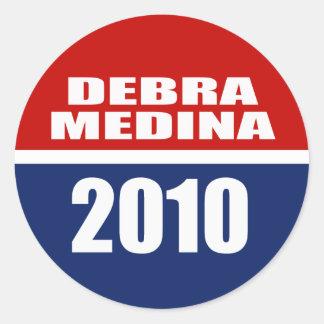 DEBRA MEDINA 2010 STICKERS