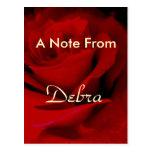 Debra Postcard