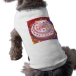 Debra's Birthday Cake Doggie T-shirt