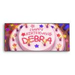 Debra's Birthday Cake Envelopes