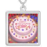 Debra's Birthday Cake Necklaces
