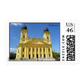 Debrecen, Nagytemplom / Debrecen, Great Church Postage Stamp