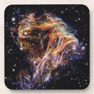 Debris From a Stellar Explosion Drink Coaster