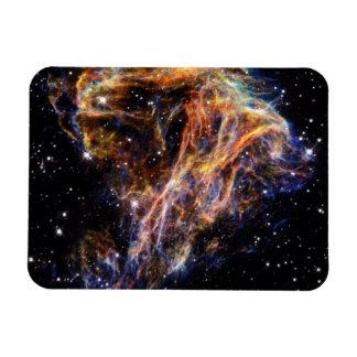 Debris From a Stellar Explosion Magnet