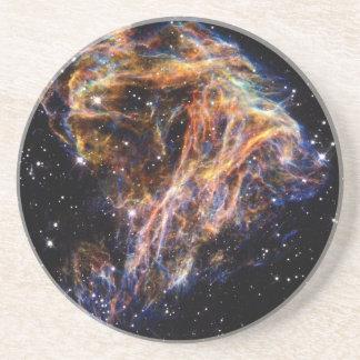 Debris From a Stellar Explosion Sandstone Coaster