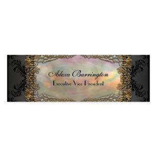 Debsaulea Skinny Elegant Professional Business Card Templates