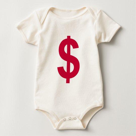 debt baby bodysuit