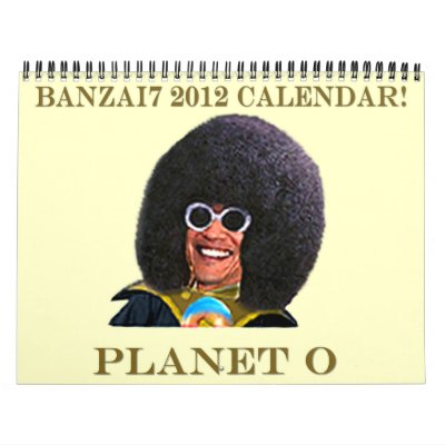 Debt Brother From Planet O Calendar