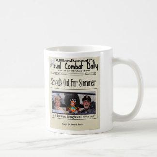 Debt Brother Visual Combat Daily 8/11 Coffee Mug