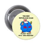 debt ceiling 2 inch round button