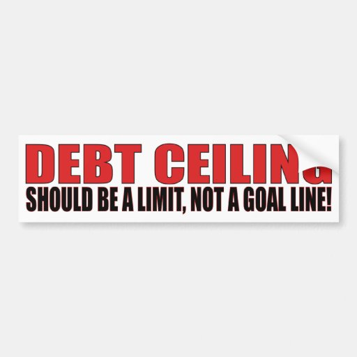 Debt Ceiling Bumper Stickers