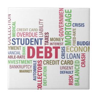 Debt-credit,loss Ceramic Tile