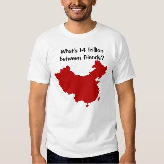 Debt crisis tee shirt