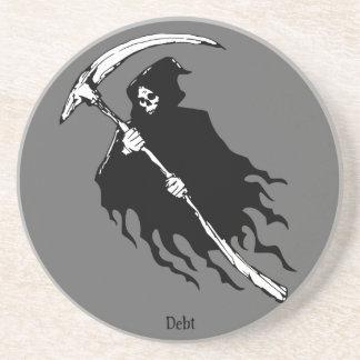 Debt Drink Coaster
