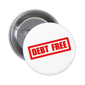 Debt Free Button
