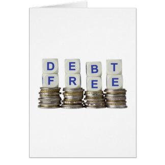 Debt Free Card