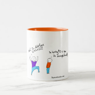 """Debt-Free"" Coffee Mug for the Recently Poor"
