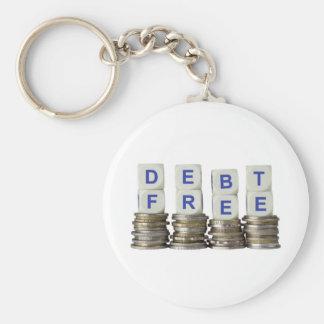 Debt Free Keychain