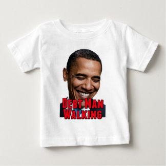 Debt Man Walking Obama Infant T-shirt