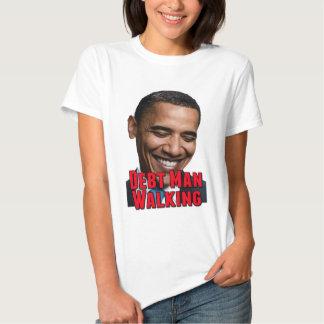 Debt Man Walking Obama Tee Shirt