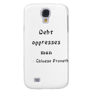 Debt oppresses man samsung galaxy s4 cases