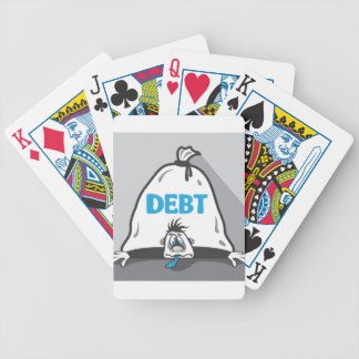 Debt Pressure Bicycle Playing Cards