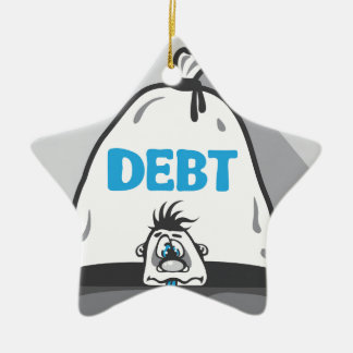 Debt Pressure Ceramic Ornament