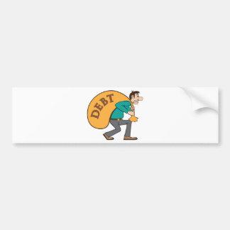 Debt pressure / load struggle bumper sticker