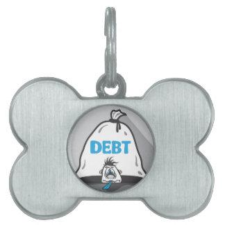 Debt Pressure Pet Tag
