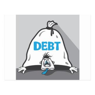 Debt Pressure Postcard