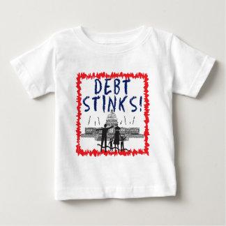 Debt Stinks Infant T Shirt