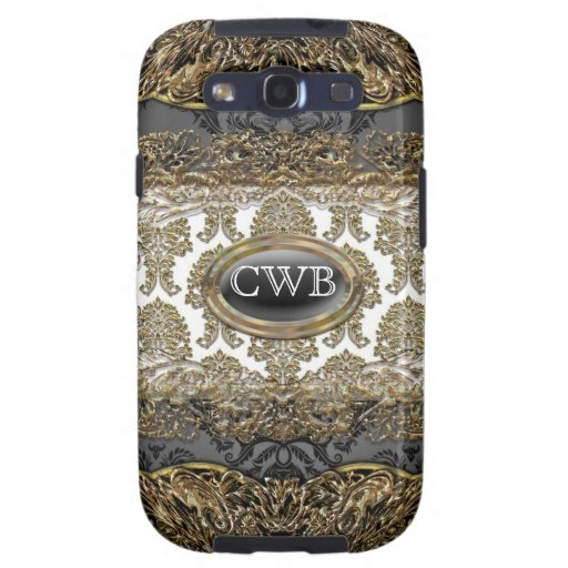 Debusschère Damask Victorian Galaxy S3 Covers