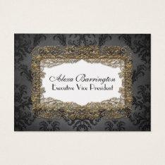 Debusschère Elegant Professional Business Card at Zazzle