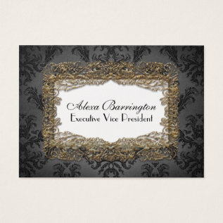 Debusschère Elegant Professional Business Card at Zazzle