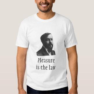 Debussy: Pleasure is the law Tshirt