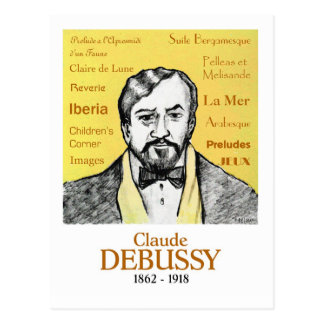 Debussy Post Card
